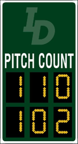 BA-2035 Baseball Scoreboards