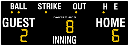 BA-618 Baseball Scoreboards