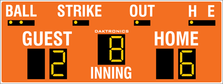 BA-624 Baseball Scoreboards