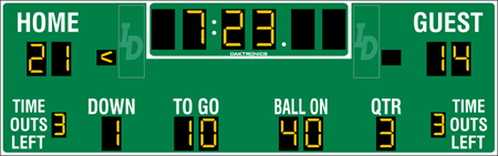 FB-2027 Football Scoreboards