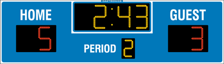 H-2101 Hockey Scoreboards