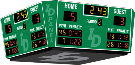 H-2107 Hockey Scoreboards