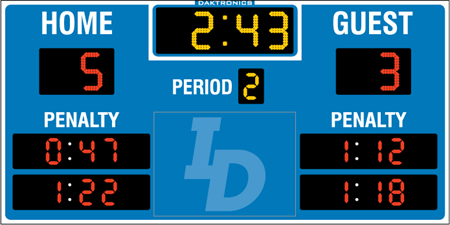 H-2108 Hockey Scoreboards