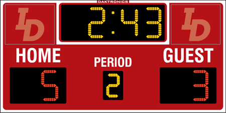 H-2111 Hockey Scoreboards