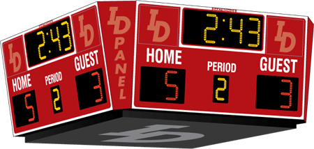 H-2112 Hockey Scoreboards