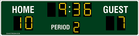 MS-2006 Football Scoreboards