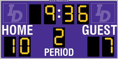 MS-915 Soccer Scoreboards