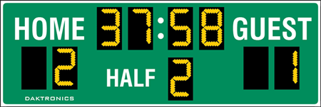 SO-918 Soccer Scoreboards